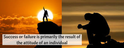 Success-or-failure-is-primarily-the-result-of-the-attitude-of-an-individual