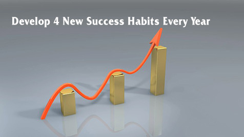Develop 4 New Success Habits Every Year