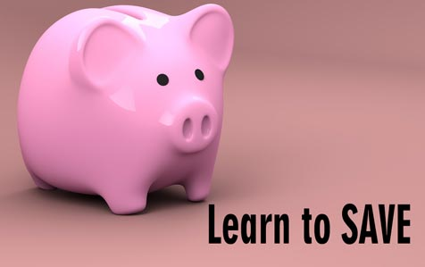Once you have decided to become wealthy, the second most critical step you must take is to learn to SAVE.